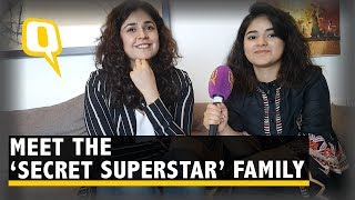 Candid chat with the cast of Secret Superstar - The Quint