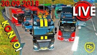 1000 Kilometer Livestream - Euro Truck Simulator 2 Multiplayer Konvoi - Daniel Gaming - 30.09.2018