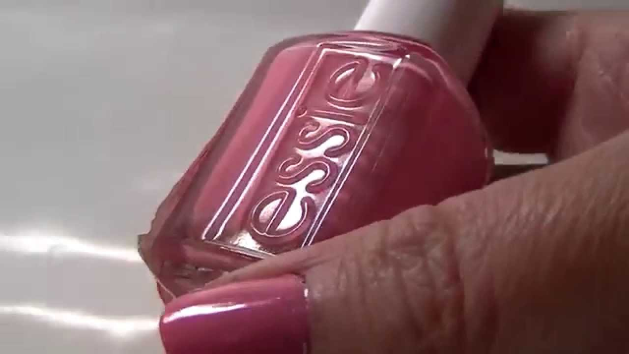 Essie Nail Polish Review 870 Love Every Minute - YouTube