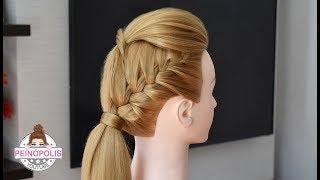 Peinados con trenza faciles y bonitos