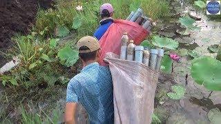 Thăm 30 ống Trúm Lươn thấy mê/ catch eel in vietnam