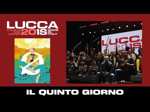 [Lucca Comics & Games] Il quinto giorno