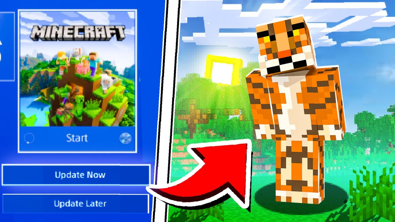 Minecraft PS4 Bedrock How To Install Shaders Minecraft PS4