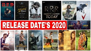 Upcoming Tollywood Movies Of 2020 | Release Dates Upcoming  Movies List | New telugu Movies 2020