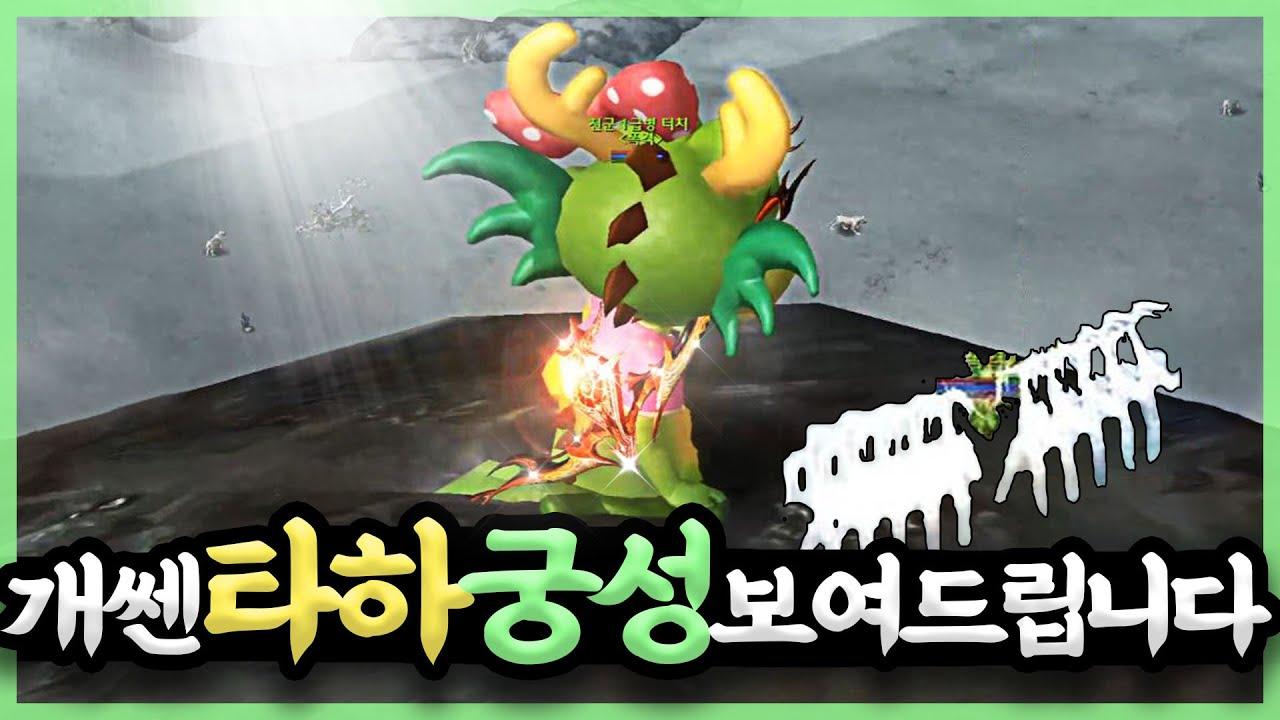 """""""타하장궁 궁성 데미지ㄷㄷ.."""" 클래식 아이온(AION)"""