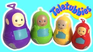 Teletubbies Stacking Cups lol Surprise Play-Doh Slime pop-up toys Huevos Sorpresa