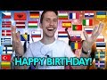 "How To Say ""HAPPY BIRTHDAY!"" In 35 Different Languages"