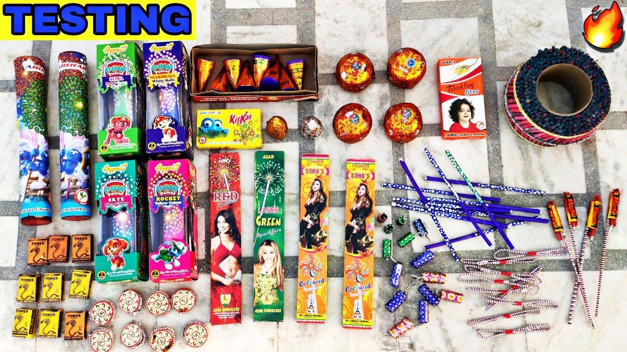 Diwali Crackers Testing 2020 | Crackers Stash | Testing Crackers | Diwali 2020