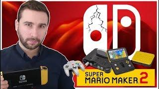PAS DE NOUVELLE SWITCH pour L'E3, UNE DATE pour MARIO MAKER 2 & LA SWITCH dépasse la N64 !