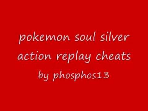 Arceus (L+R) Action Replay Codes for Pokemon Soul Silver on DS