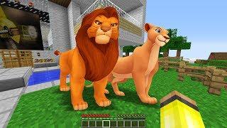 Gambar cover ASLAN KRAL EVİMDE ORTAYA ÇIKTI! 😱 - Minecraft