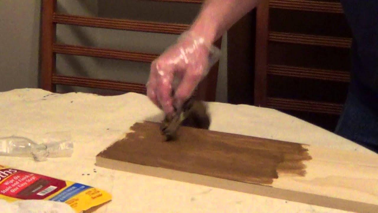 Stain Wood Minwax Cloth