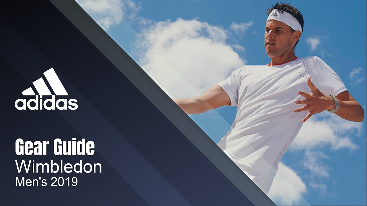2019 Adidas Men's Team Wimbledon and US Open Series Gear Guide | Tennis Express