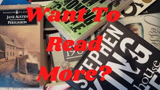 How To Get More (or Back) Into Reading + Recomendations