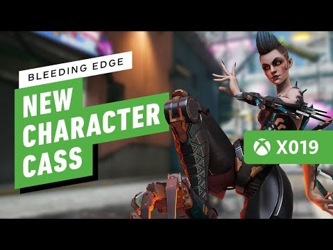 Bleeding Edge's New Character Cass is a Super-Jumping Damage Dealer - IGN Live X019