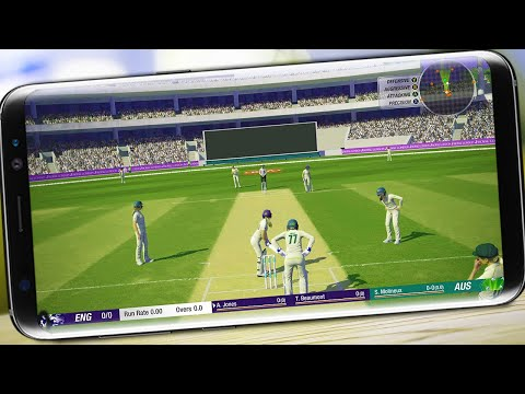 Top 5 Best Cricket Games For Android & IOS | High Graphics 2020🔥