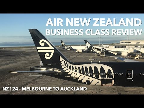 World's Best Airline 2018 | Air New Zealand | Business Class Review - MEL TO AKL - NZ124 (in 4K)