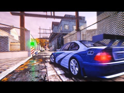 😱 НОВАЯ ГРАФИКА В NEED FOR SPEED MOST WANTED 2005 [Игры На Прокачку]