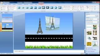 Car Tyre Animation In Powerpoint-2007 Tamil Part-1