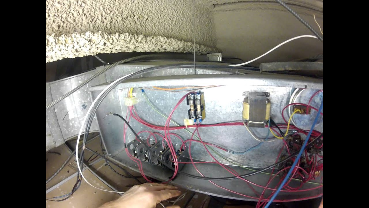 DDC Control Wiring Multi Stage Electric Reheat VAV System