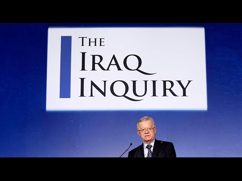 Chilcot Report critical of Tony Blair, British intelligence in lead-up to Iraq War