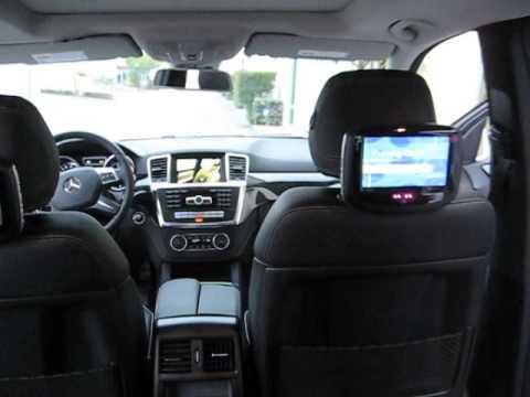 Mercedes Benz 2014 ML550 Rear Entertainment System Upgrade