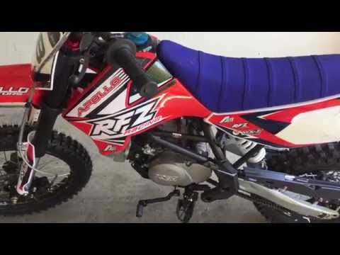 Apollo X18 125cc Dirt Bike Review - YouTube