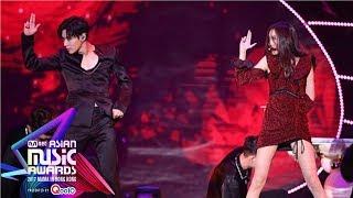 SUNMI & TAEMIN - Gashina Live on MAMA 2017