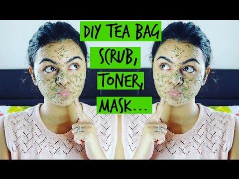 Tea Bag Face Scrub,Toner,Mask For Evertype Of Skin....