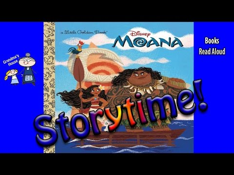 Storytime! ~ Disney's MOANA Read Aloud ~ Story Time ~  Bedtime Story Read Along Books