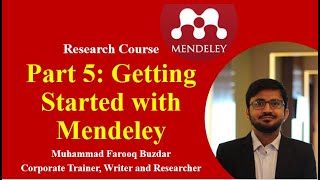 Getting Started with Mendeley, How to use Mendeley Desktop, Web Importer & MS Word Plugin Part-5