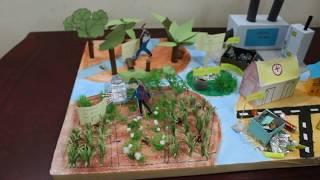Land Pollution Model - School Project
