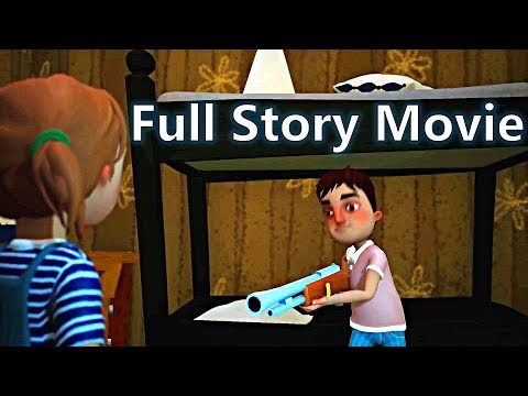 HELLO NEIGHBOR - FULL STORY Game Movie