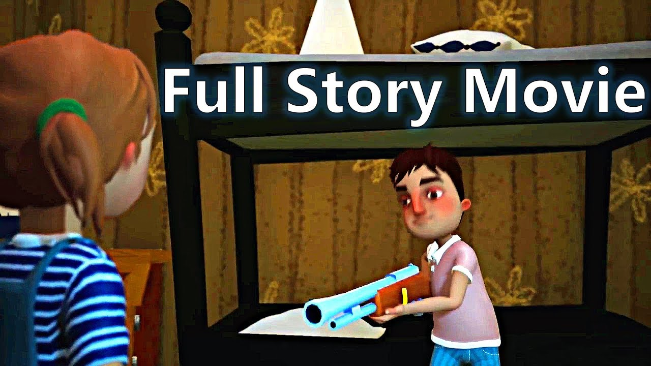 Download HELLO NEIGHBOR - FULL STORY Game Movie