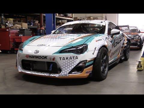"[TECH TOUR] ""Drifting requires a lot of grip...""   Ken Gushi's 600 hp EJ25 Formula D FR-S"