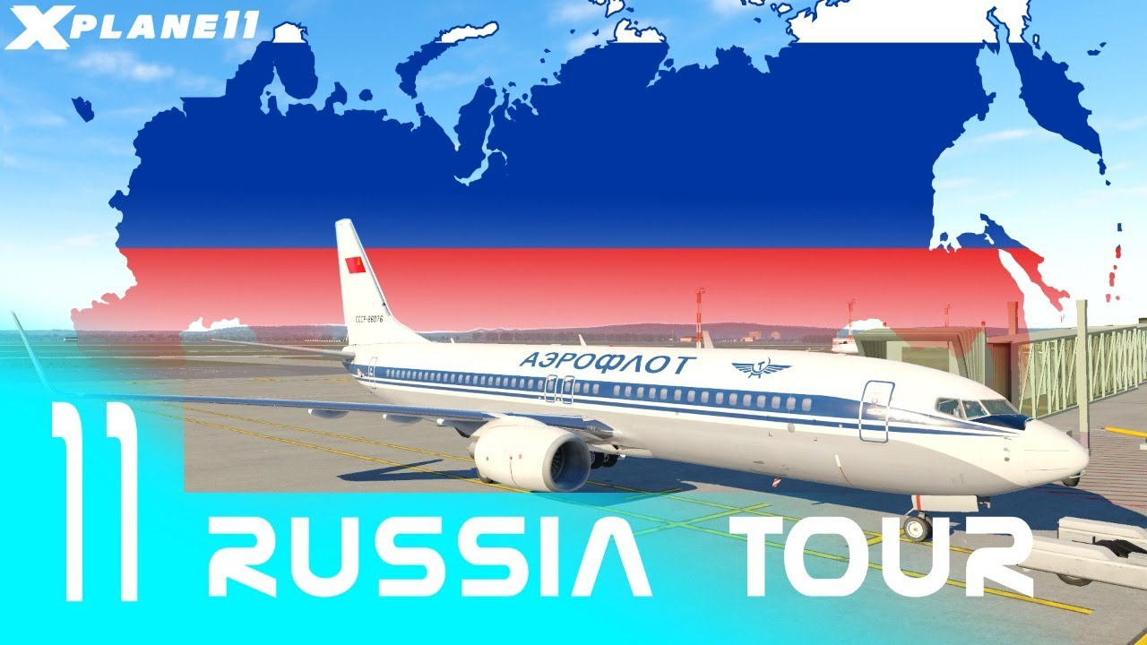 Russia Tour Ep.11   Ekaterinburg USSS - Ufa UWUU - Ulyanovsk UWLW - N.Novgorod UWGG   Retro Aeroflot