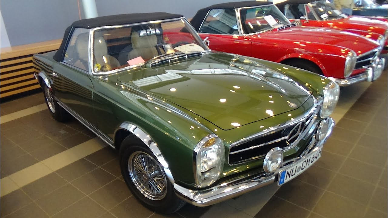1965 mercedes benz 230 sl pagoda technorama ulm 2016 youtube. Black Bedroom Furniture Sets. Home Design Ideas
