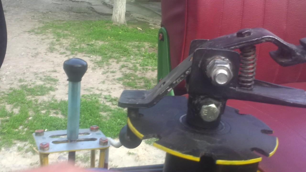 Механическая навеска на минитрактор своими руками фото 113
