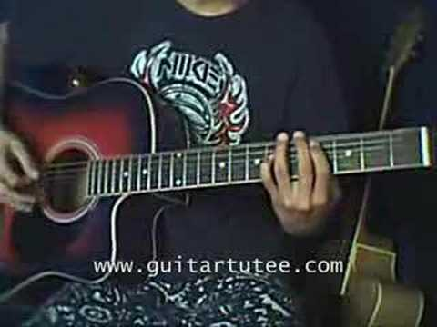 Jamie All Over Of Mayday Parade By Guitartutee Youtube