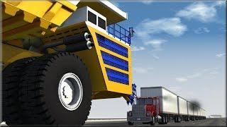 BeamNG Drive Insane Trucking Crashes #9
