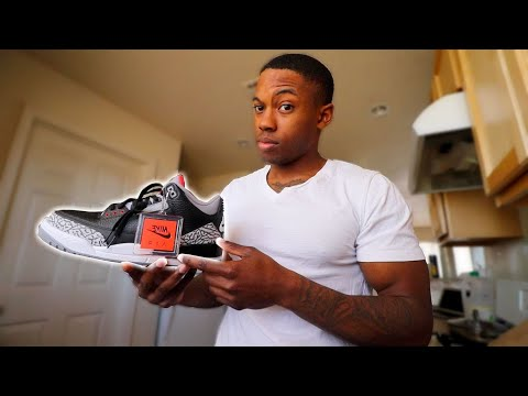 "WHY DID YOU BUY THE AIR JORDAN 3 ""BLACK CEMENT"" !!??"