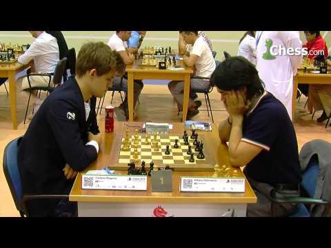 Carlsen-Nakamura at the FIDE World Blitz Championship 2014
