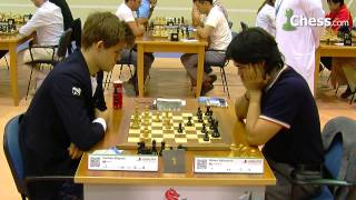 Carlsen-Nakamura at the FIDE World Blitz Championship 2014