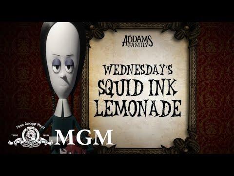 THE ADDAMS FAMILY | DIY: How To Make Wednesday's Halloween Lemonade | MGM