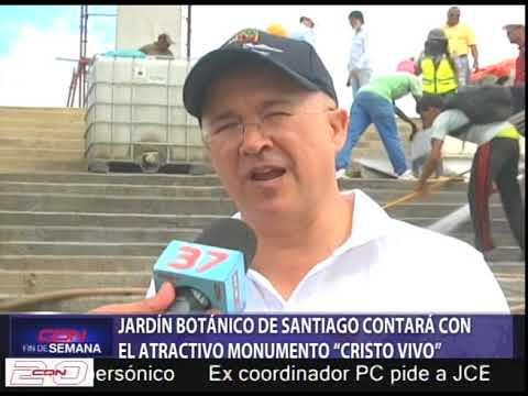 """Jardín Botánico de Santiago contará con el atractivo monumento """"Cristo Vivo"""""""