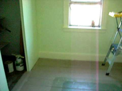 New bedroom...... New Paint