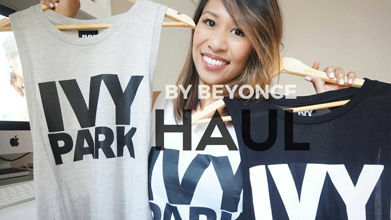 6badfc4d6da20 BEYONCE FASHION LINE Ivy Park Haul + Try On   Belle at Heart - YouTube