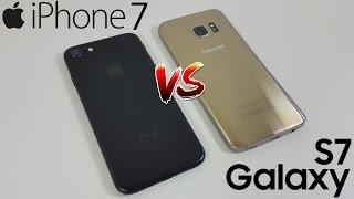 iPhone 7 vs Galaxy S7 | Comparativa, ¿Cuál es mejor?