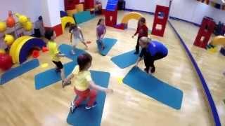 Евгения Токарева в номинации Детский фитнес OnFit Awards 2014