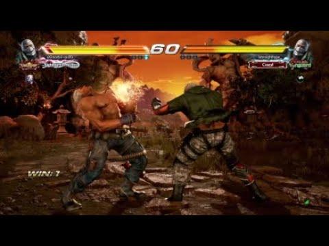 Tekken 7 - Bryan Taunt Jet Upper in a Match